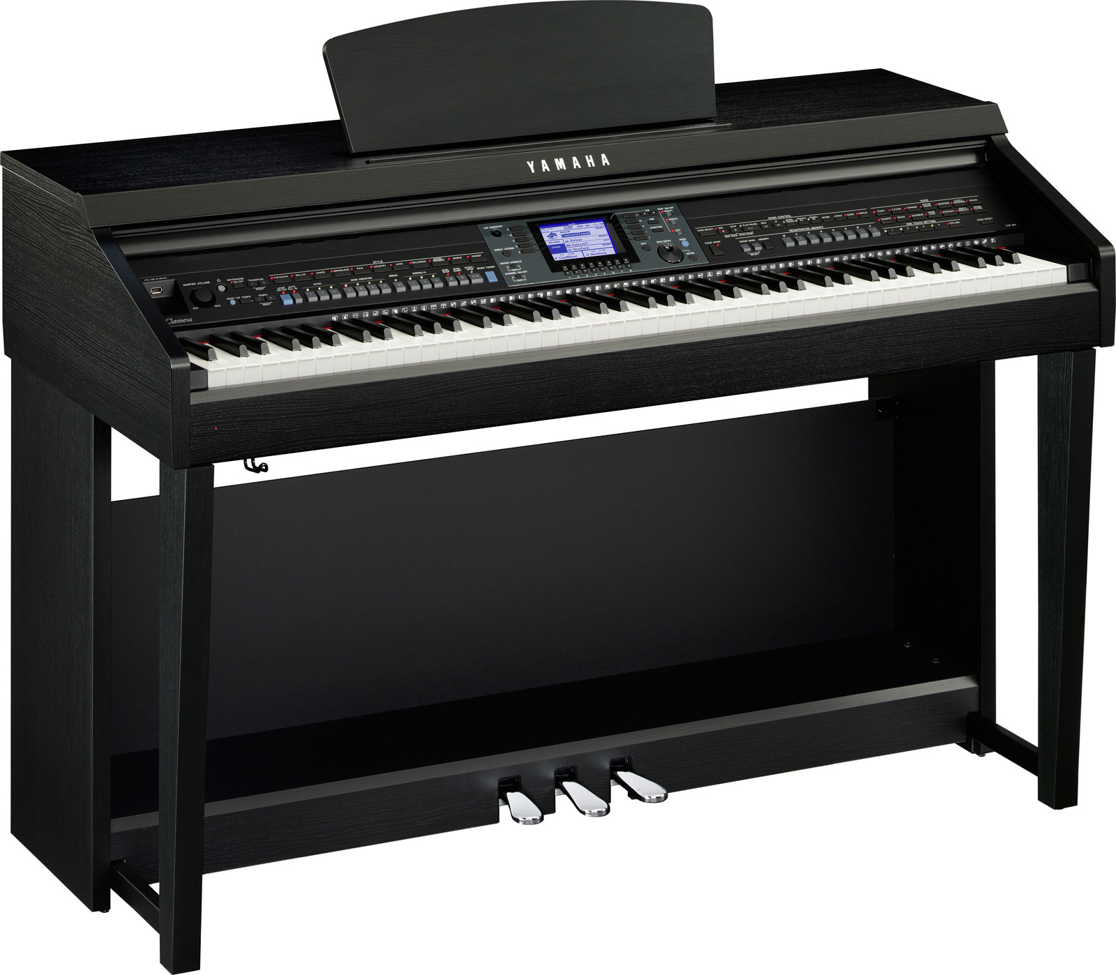 Yamaha Clavinova 601b Digital Piano in Black Walnut