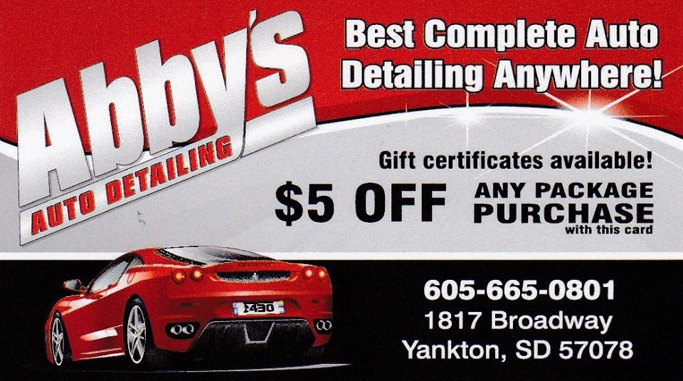 $50 toward any Abby's Auto Detailing service